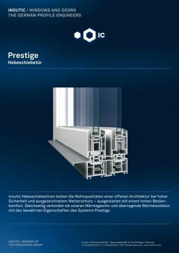 Prestige (pdf) - Inoutic