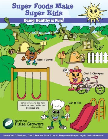 Activity Book - Cooking with Pulses