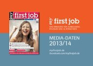 mediadaten - my first job