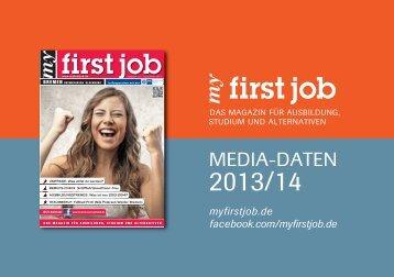 mediadaten - my first job