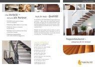 Ihre Vorteile – mit uns als Partner - Treppenbau Voss