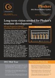 Phuket 2012 Hotel Market Update - C9 Hotelworks