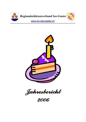 Jahresbericht 2006 - RSV See-Gaster