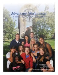 download - Westminster College