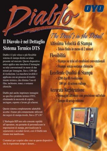 Il Diavolo è nel Dettaglio Sistema Termico DTS - oyo.co.uk