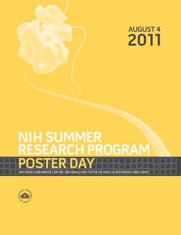 NIH Poster Day 2011 Book - Office of Intramural Training ...