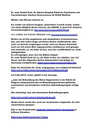 Gutachten Dr. med. Rudolf Groß - Tod eines Patienten der ...