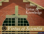 Virtus et Scientia - Bishop Moore High School