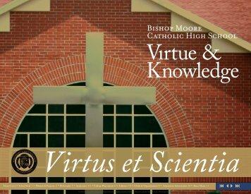 Virtus et Scientia - Bishop Moore High School
