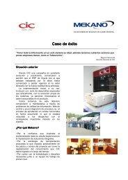 Caso exito CIC - Mekano
