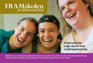 Brosjyre - Vallersund Gård