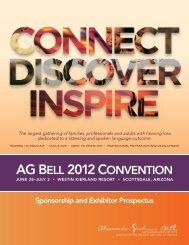 AG Bell 2012 Convention - Alexander Graham Bell Association