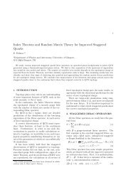 Index Theorem and Random Matrix Theory for Improved Staggered ...