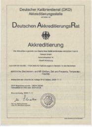 Deutscher Kalibrierdienst - Trescal