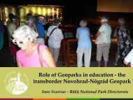 1. dia - European Federation of Geologists