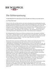 Die Götterspeisung - Otto Geisel