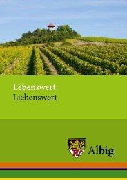 Albig - Lebenswert, Liebenswert - Informationsbroschüre (PDF, 3 MB)