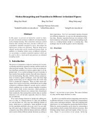 Motion Retargetting and Transition in Different Articulated Figures ...