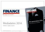Mediadaten 2014 - Finance Magazin