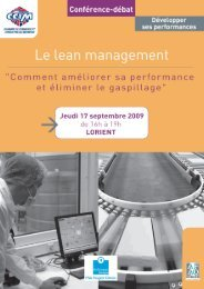 Invitation Lean Management - Bretagne Innovation