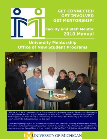 FS Training Manual 2010 - Office of New Student Programs ...