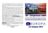Amsi Programma Congresso 2011 - Ordine di Ascoli Piceno
