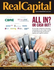 12-002 (RealCapital Broch):08-001 - Real Estate Forums