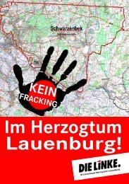 Flyer Download - Die Linke - Kreisverband Herzogtum Lauenburg