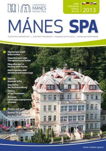 JARO FRÜHJAHR SPRING ВЕСНА www. manes-spa.cz ...