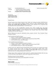 Nomor Lampiran Perihal Kepada Y Nasabah Bank Co Dengan h ...