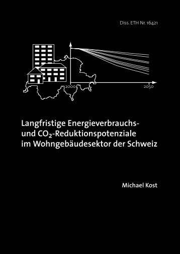 Full Text (in German) - ETH - UP - Environmental Physics - ETH Zürich