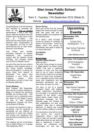 12 Newsletter 11.9.2012 Week 37 [pdf, 296 KB] - Glen Innes Public ...