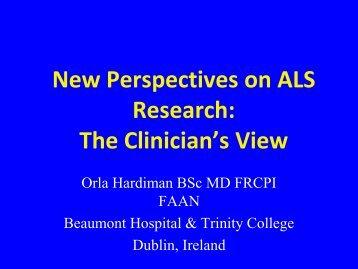 Prof Orla Hardiman - ALScience