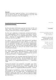 SJ2007-613-210 - Udtalelse byggesagsgebyrer ... - Statsforvaltningen
