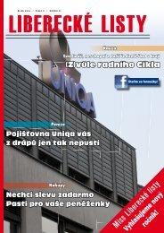 Liberecke listy rijen 2011 - Liberecké listy