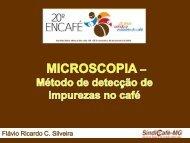 MICROSCOPIA DE CAFÉ TORRADO E MOÍDO - Abic