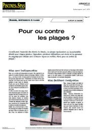 Piscine & Spas Magazine - Piscinelle
