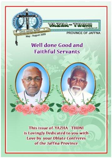 yazha tjhoni may - august.pmd - oblate province of jaffna: omi jaffna