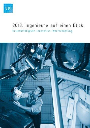 2013: Ingenieure auf einen Blick - VDI
