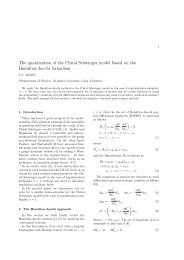 The quantization of the Chiral Schwinger model based on the ...