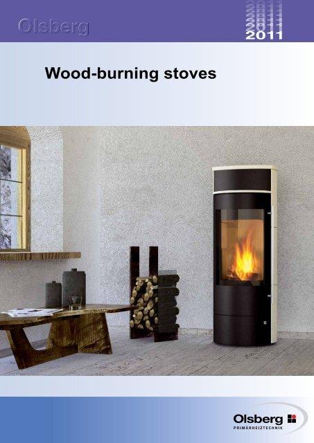 Glaze variants for Olsberg wood- burning stoves
