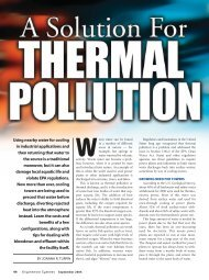 SOLUTION FOR THERMAL POLLUTION.pdf - Emerson Swan