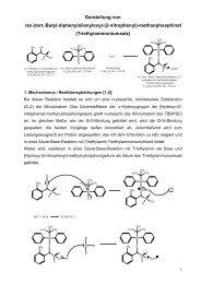 ISP-Protokoll: TBDPS-Phosphinat - carsten-brandt.de