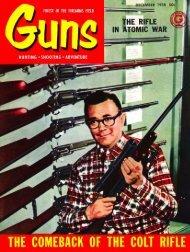 GUNS Magazine December 1958 - Jeffersonian