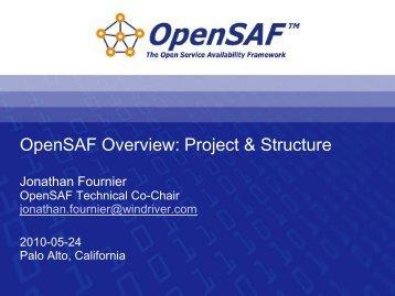 Developers - OpenSAF