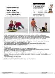 Sausmaus 653211 indoor 653214 outdoor