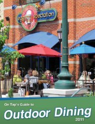 Click to view the 2011 guide - On Tap Online