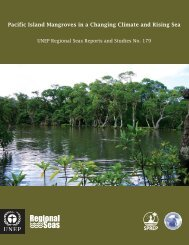 Pacific Island Mangroves in a Changing Climate and Rising ... - UNEP
