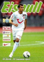 FC Zürich – FC Lausanne-Sport