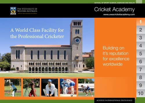 Cricket Academy - The Professional Cricketers' Association